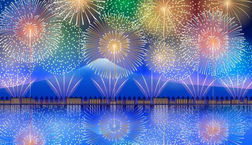 花火大会2018年!東京で8月3日と8月4日開催の花火日程・中止情報等