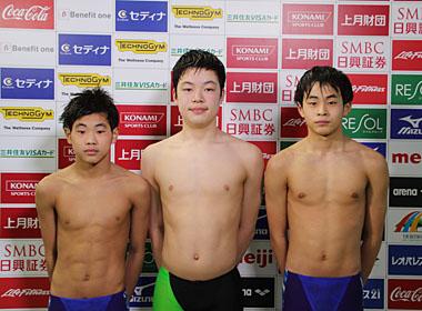 錦織孟徳の水泳成績・中学・所属チームは?強気な発言も注目