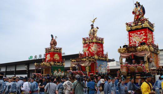 成田祇園祭2019の見どころ・日程・アクセス・屋台は?